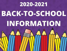 Back-to-School Information for Grades 7-12