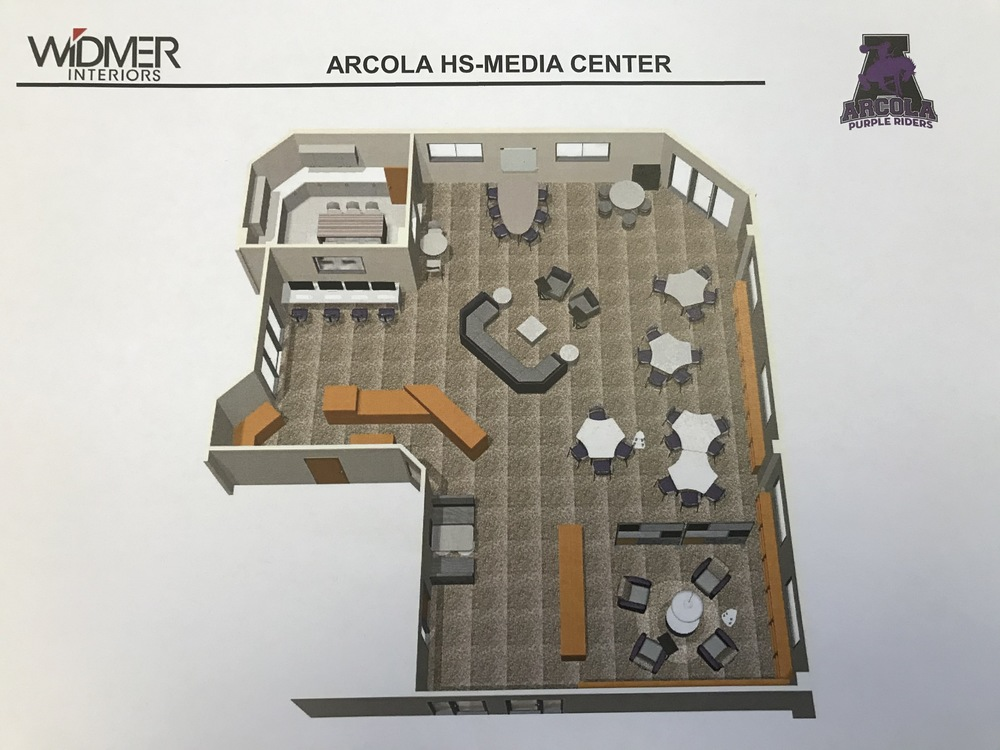 High School Media Center Redesign
