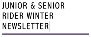 Junior & Senior Winter Newsletter