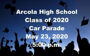 Class of 2020 Car Parade Details and Parade Route Map -  Detalles del desfile de autos de la Clase 2020
