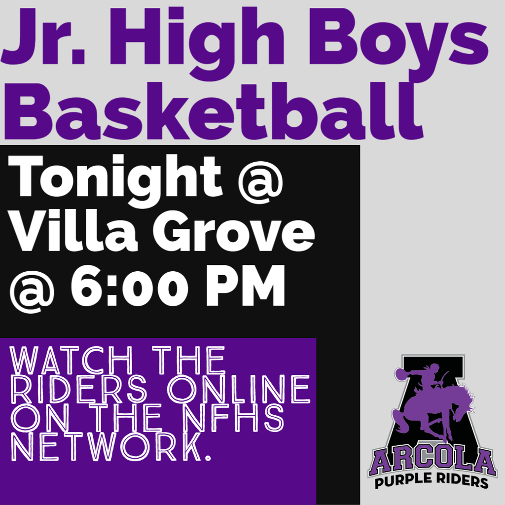 Jr. High boys vs. Villa Grove