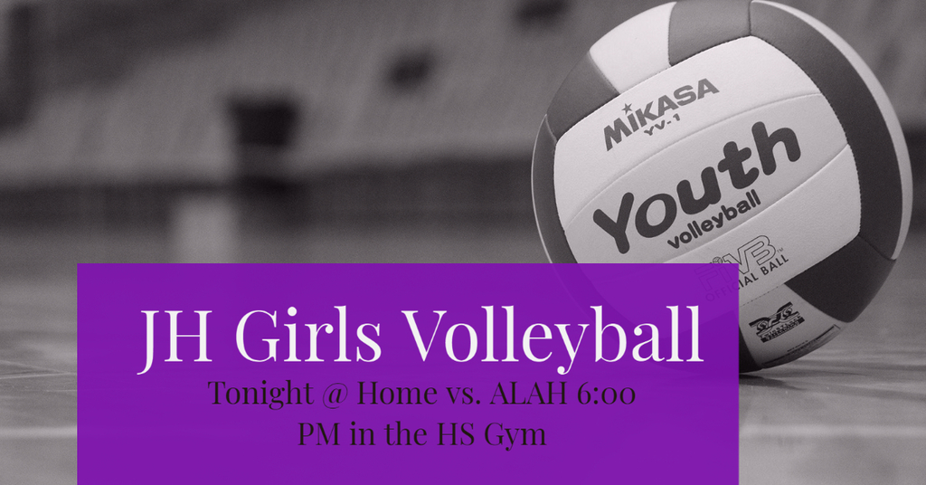 JH Volleyball vs. ALAH