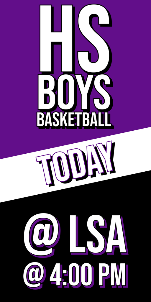 HS Boys Basketball vs. LSA