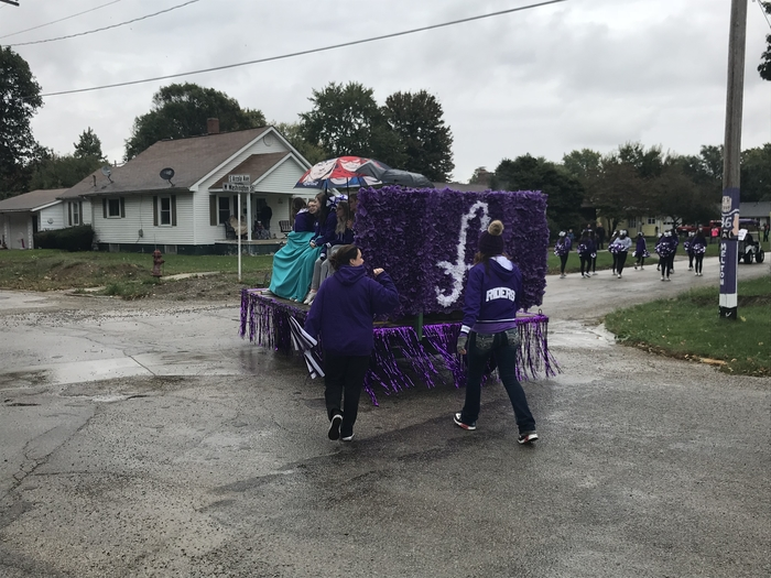 Cheer float