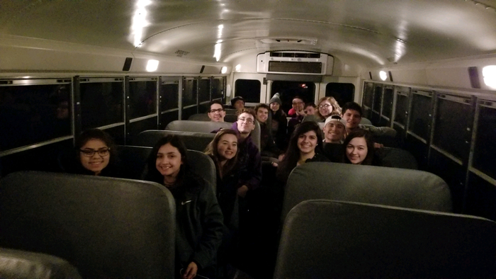 AFS students on their way to NYC!  We just arrived in Chicago!