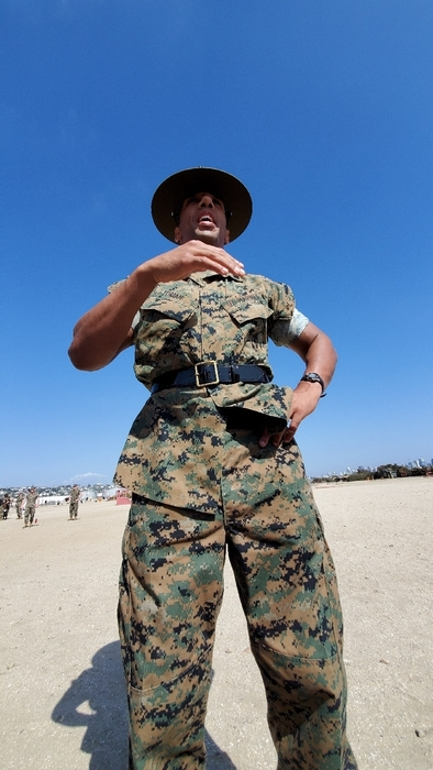 Drill Instructors are serious business.