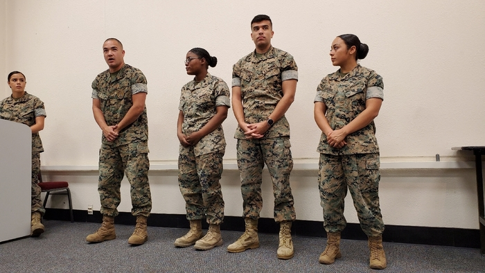 These 4 young Marines shared their paths and future plans, including finishing college degrees, career service plans, and their current specialties.