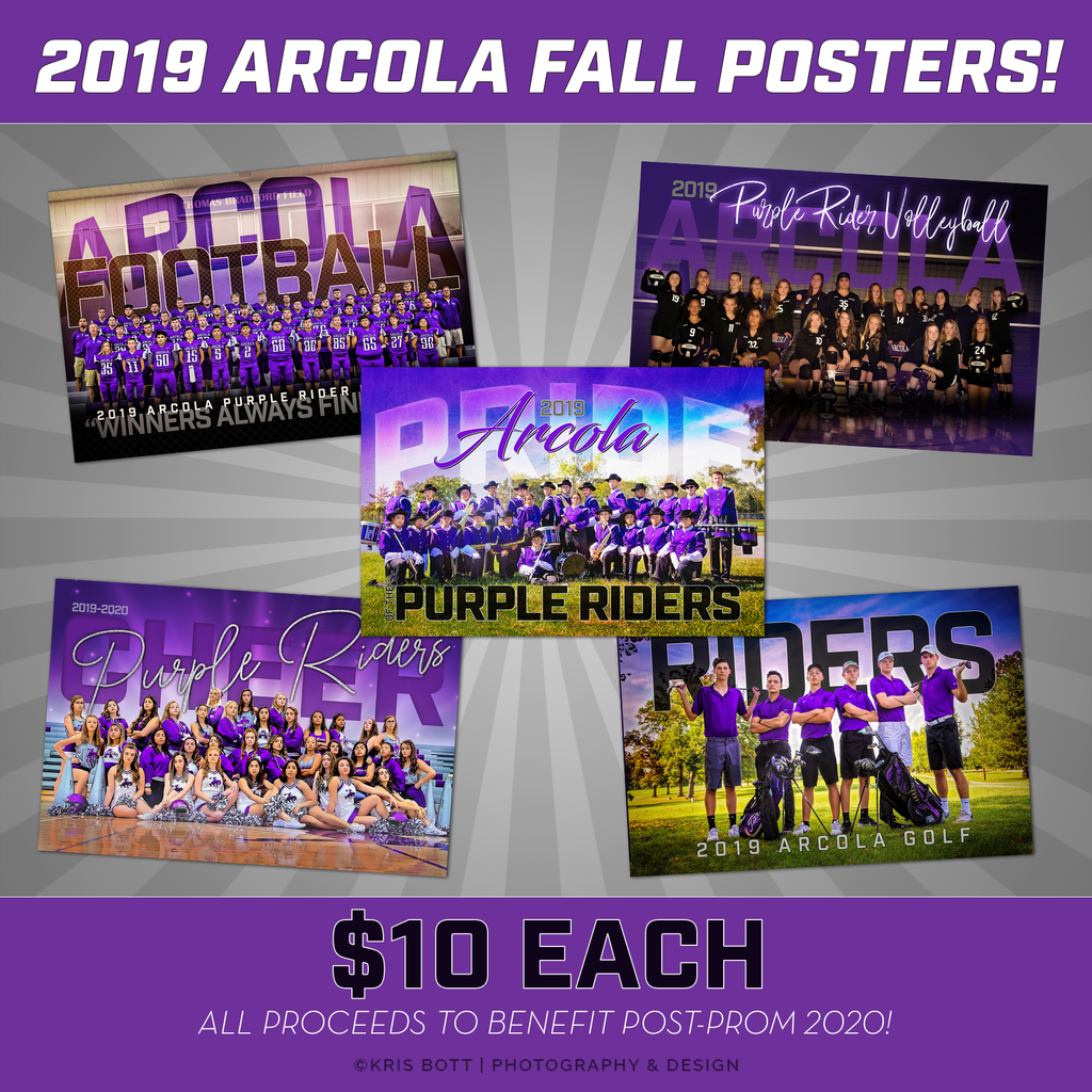 Fall team/group posters