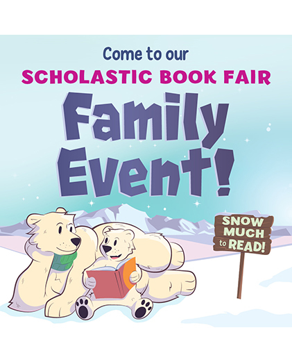 Family Event Book Fair ClipArt