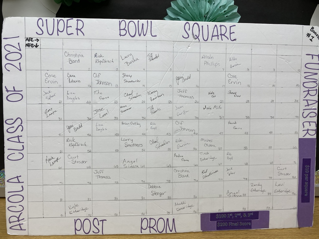 Super Bowl Board