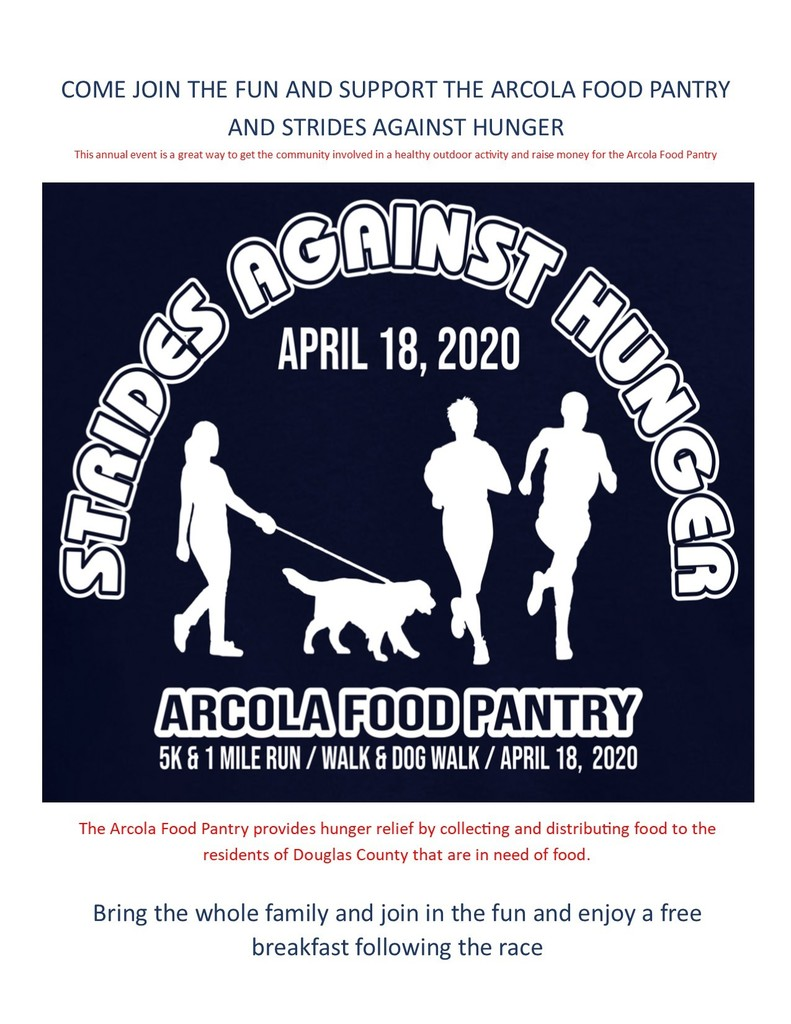 Strides Against Hunger Flyer