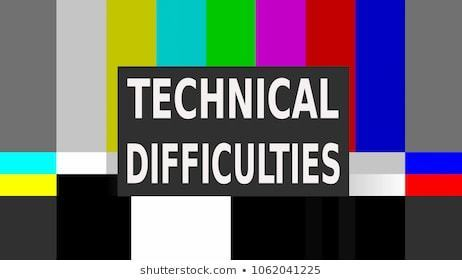 Tech Difficulties Clip Art