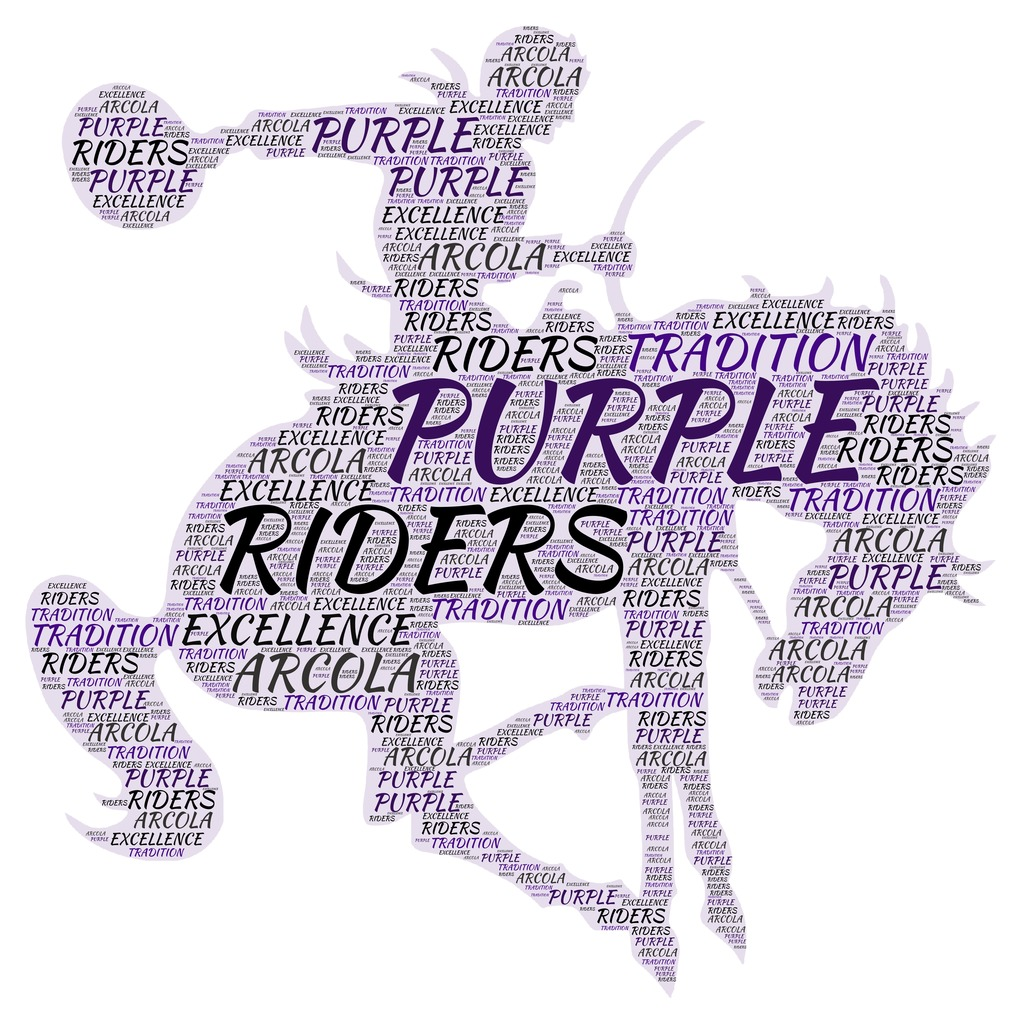 Purple Riders Wordle